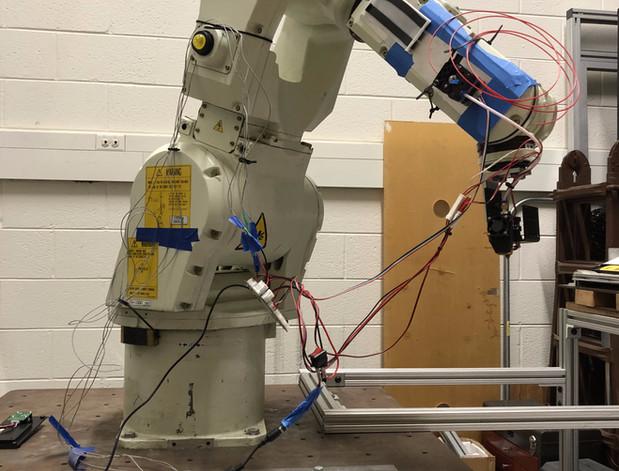 Robotics based 3D printing