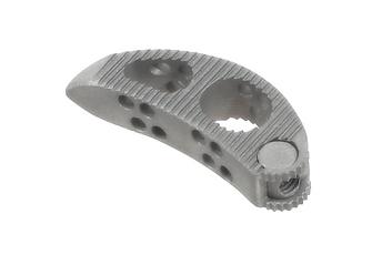 lumbar titanium implant