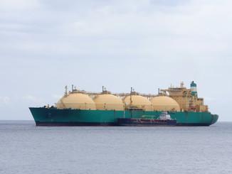 首船LNG成功交付