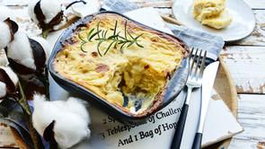 Vegan potatoes au gratin
