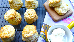 Vegan coconut scones