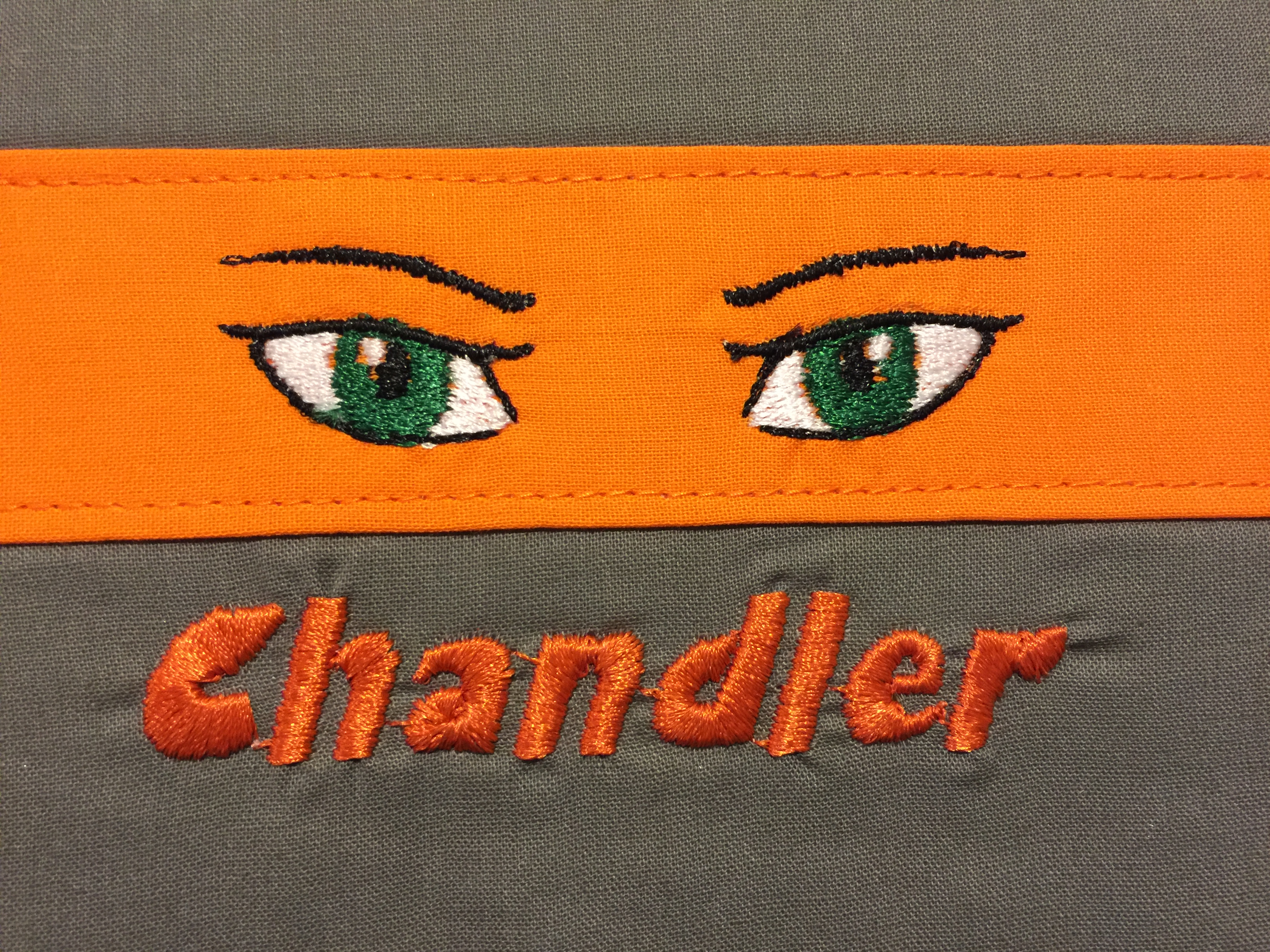 Anime Eyes Embroidery