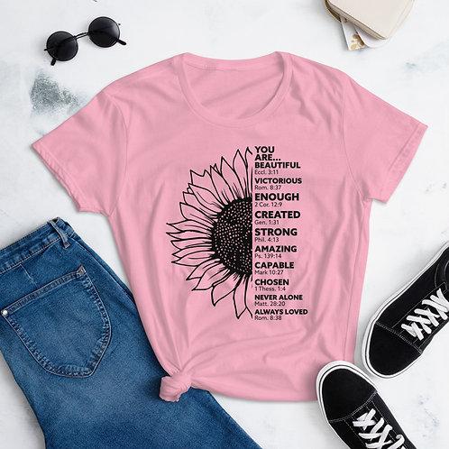 Sunflower   Women's short sleeve t-shirt