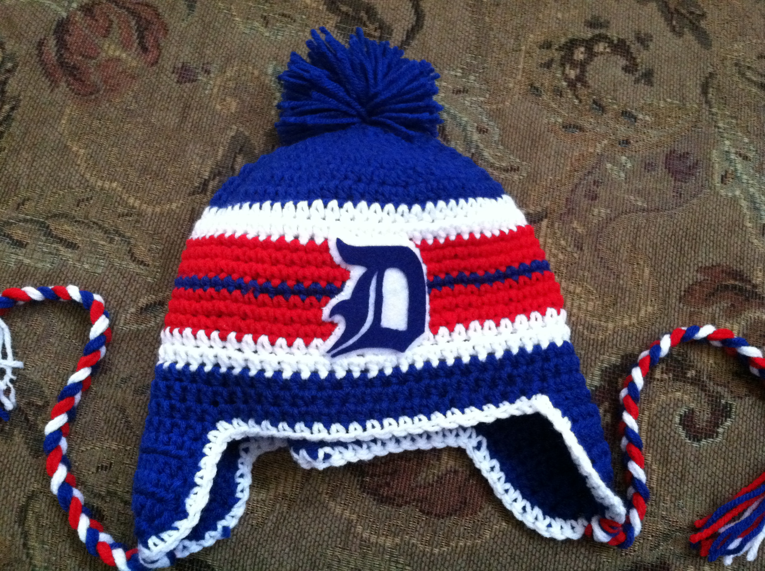 Winter Hat with First Name Initial