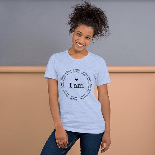 I Am   Short-Sleeve Unisex T-Shirt