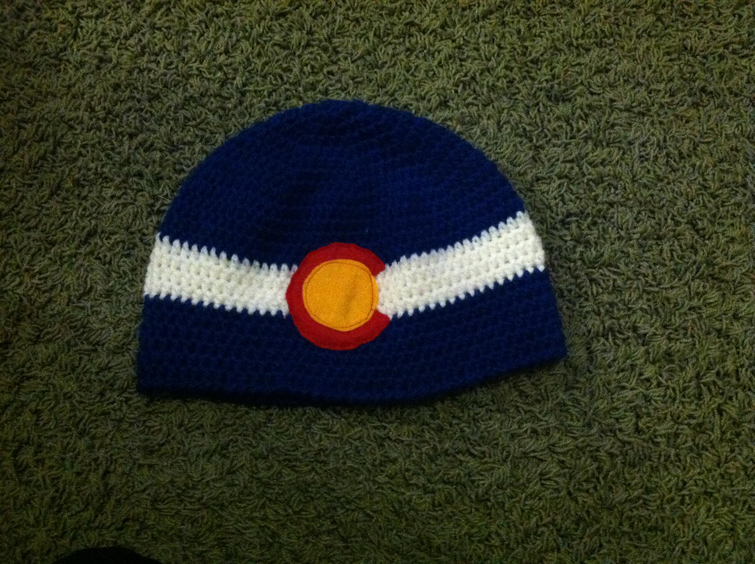 Basic Crochet Beanie