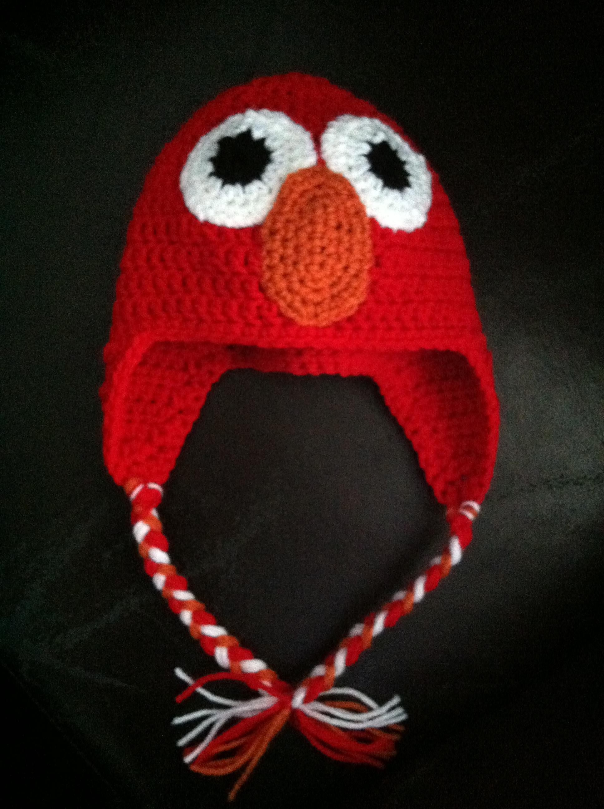 Elmo Inspired Hat