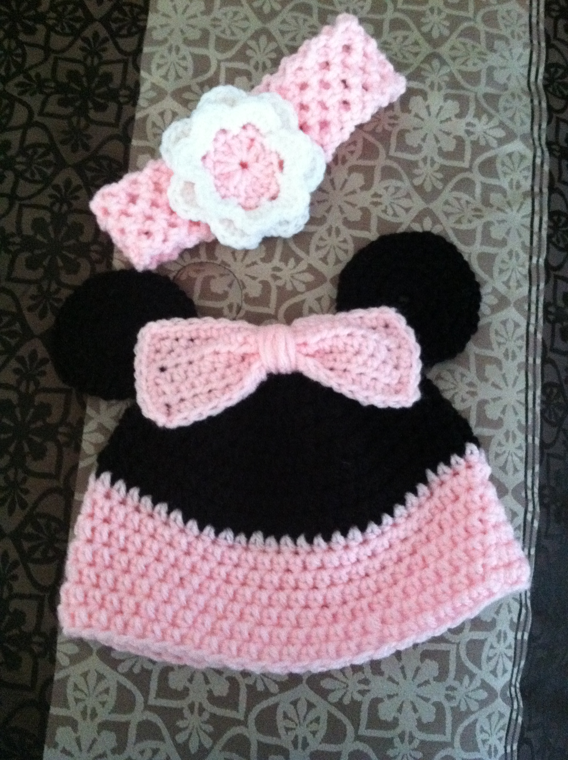 Mini Mouse Inspired Child's Hat