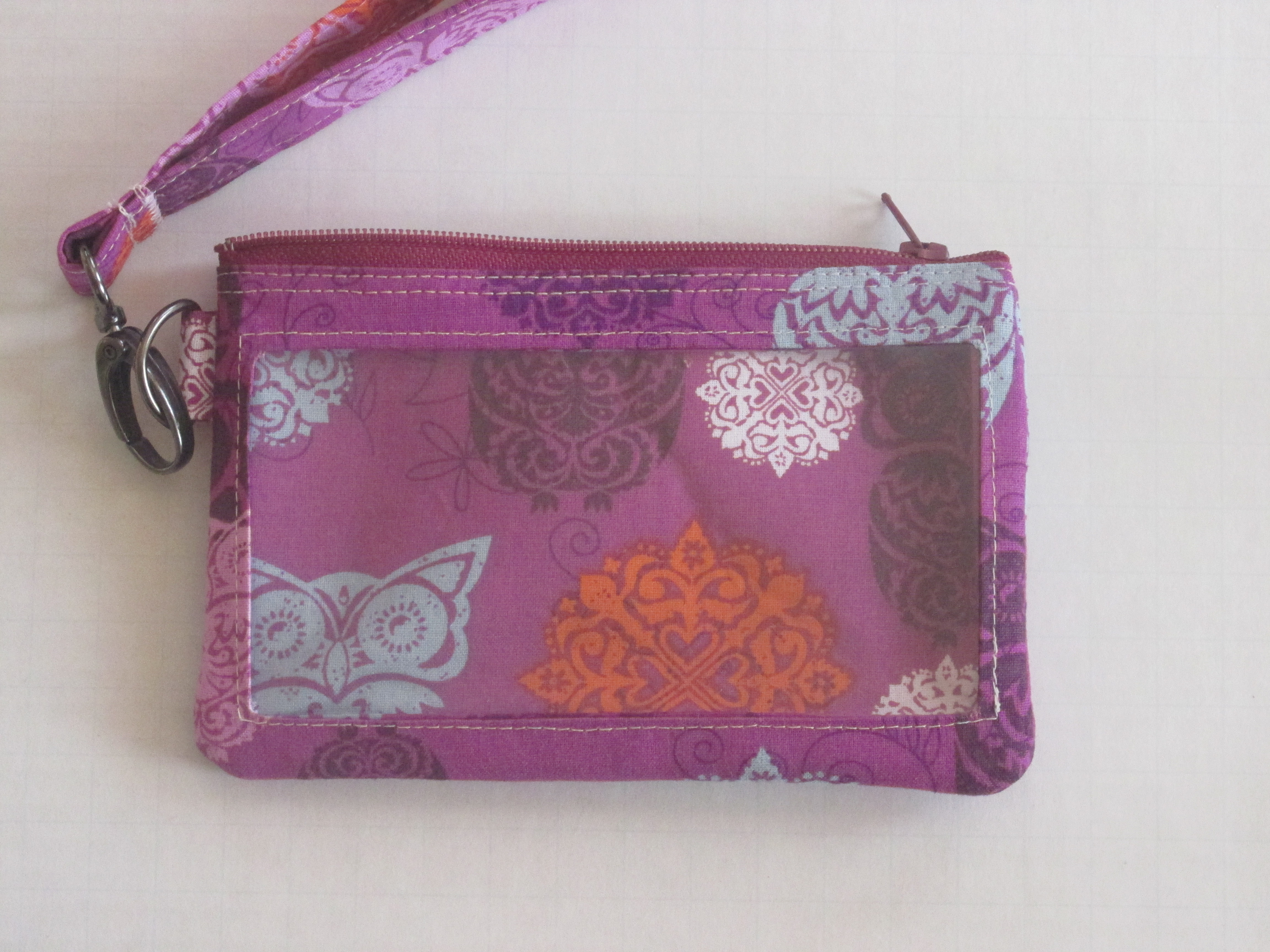 Small Fashion Owl Cell Phone Clutch