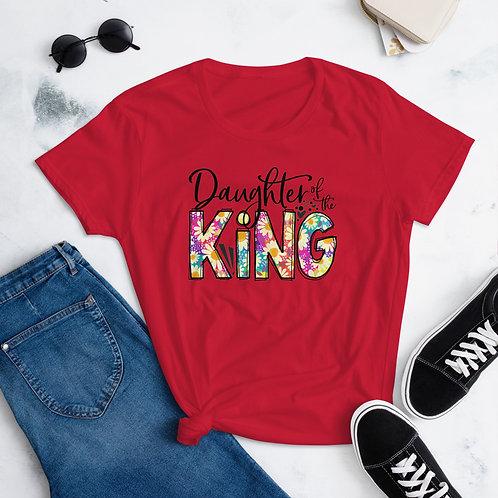 Daughter of the King   Women's short sleeve t-shirt
