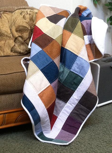 """Lap Quilt - 5"""" Charm squares"""