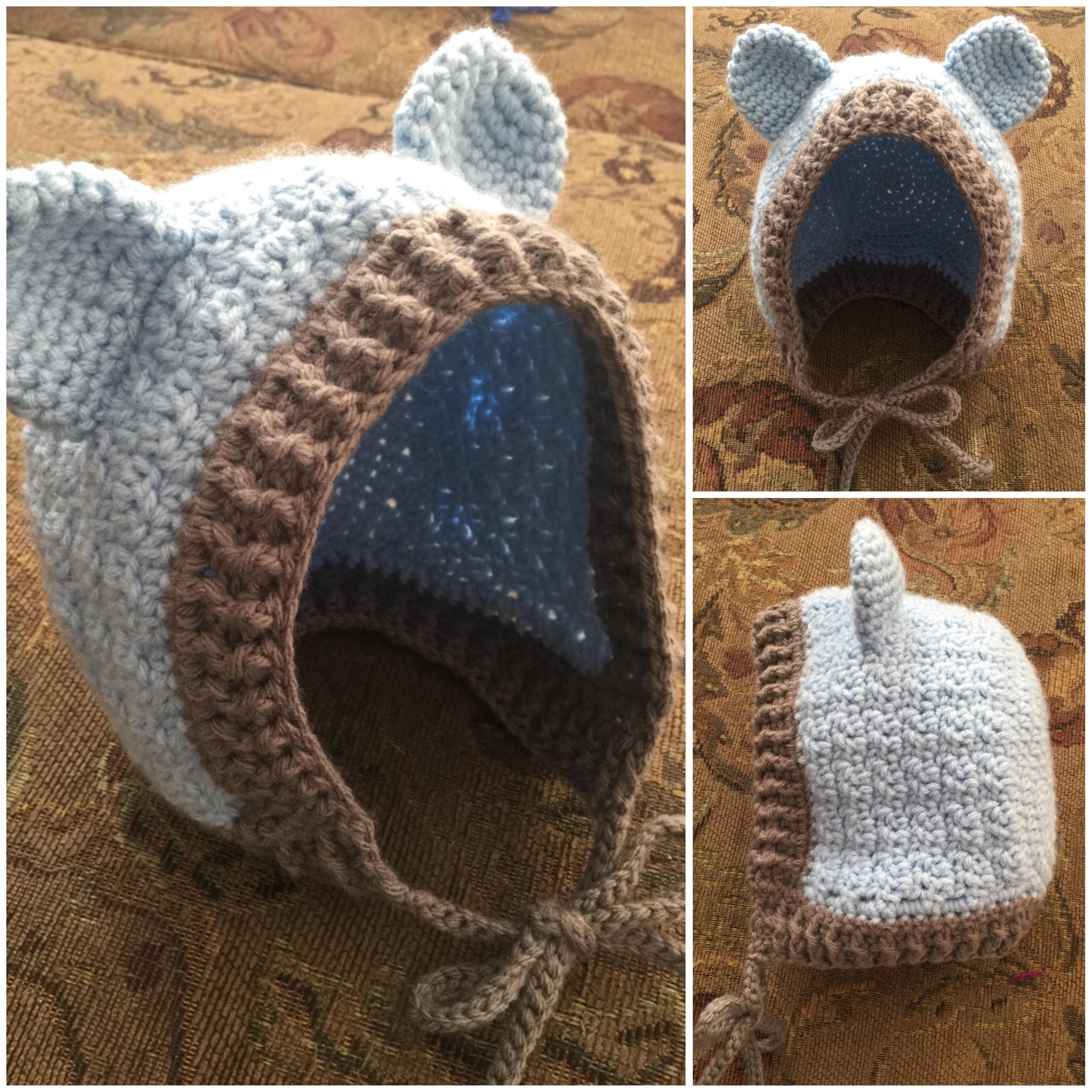 Baby Bear Bonnet