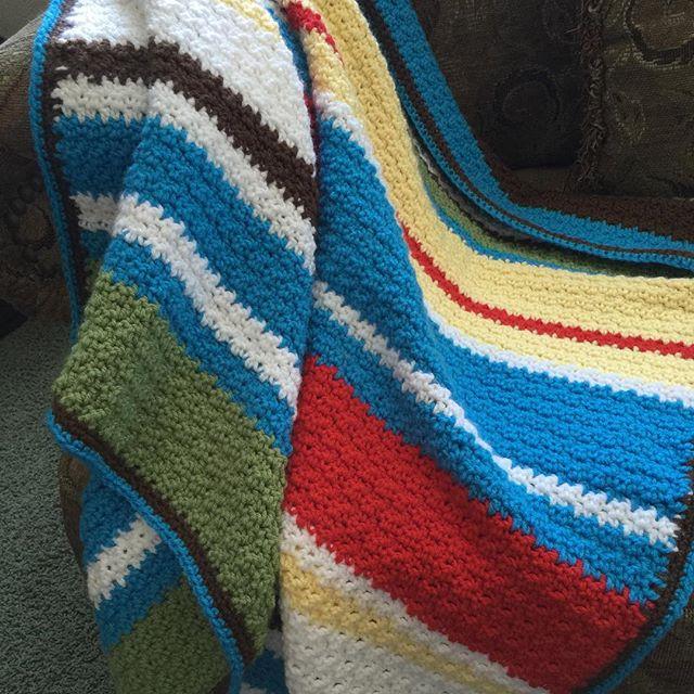Croche Baby Blanket