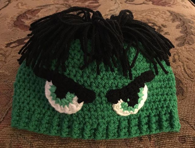 The Hulk Beanie. You know you want one.j