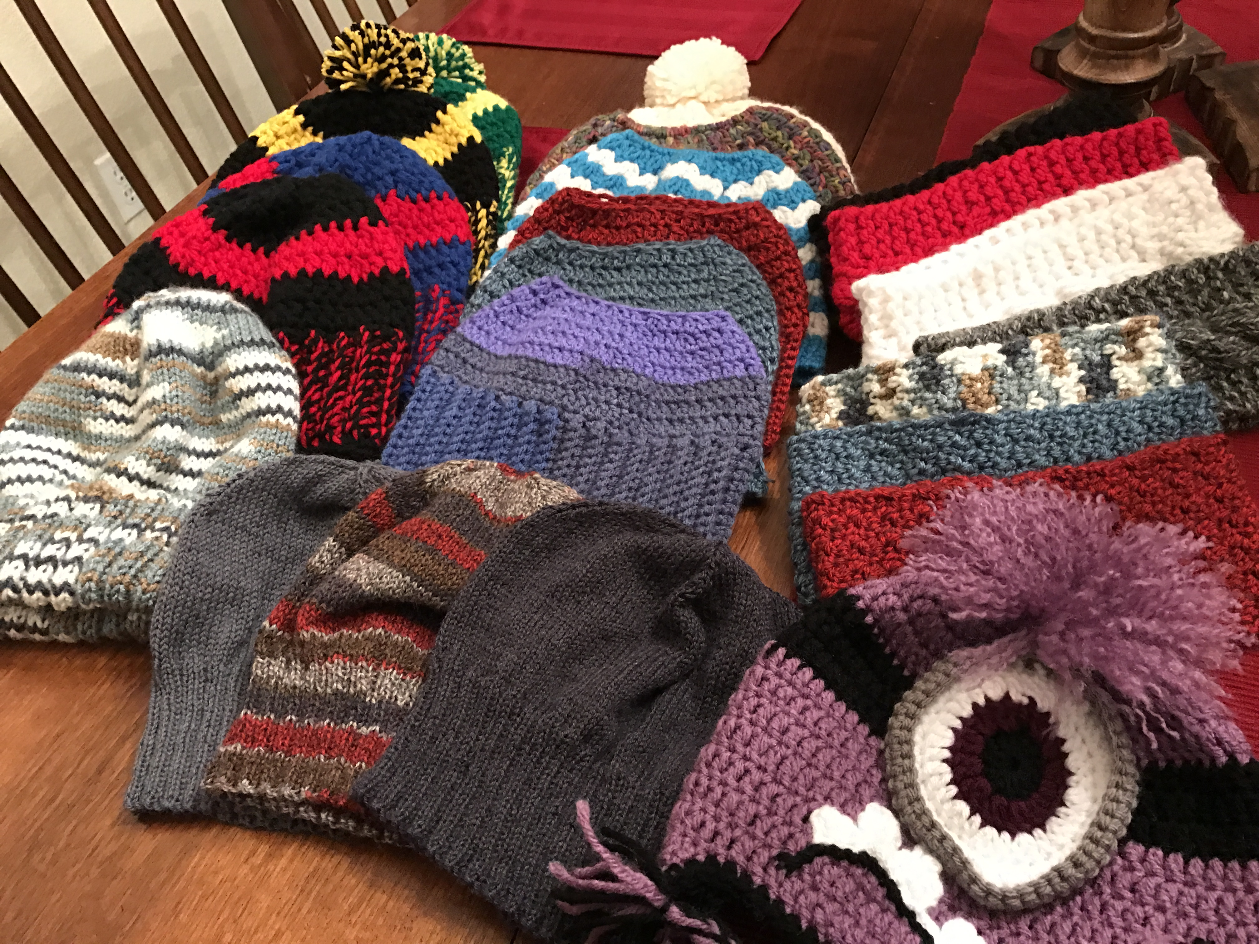 Hats and more hats!