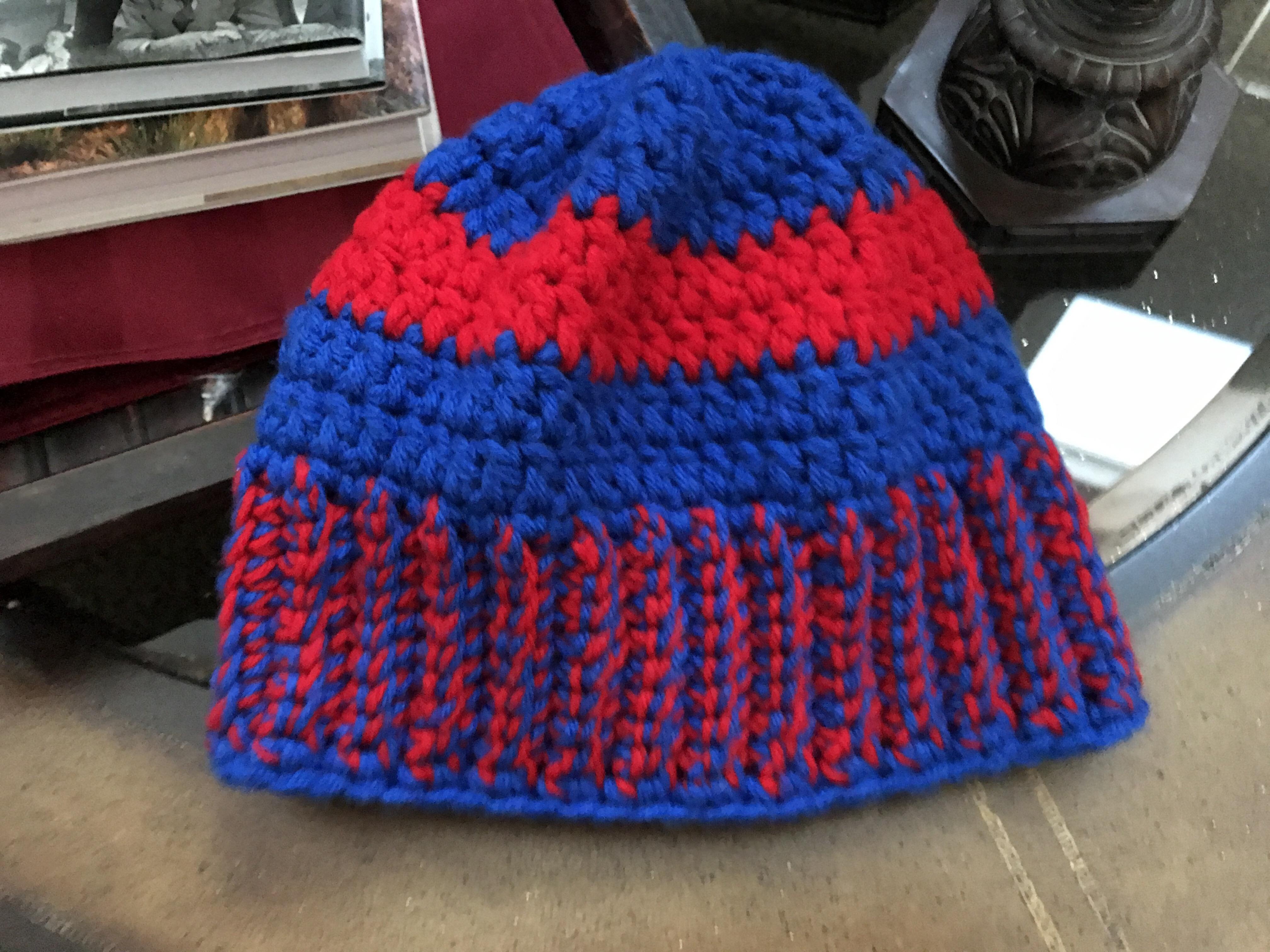 Patriots Inspired Winter Hat