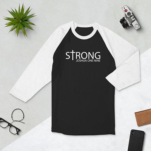 Strong | 3/4 sleeve raglan shirt