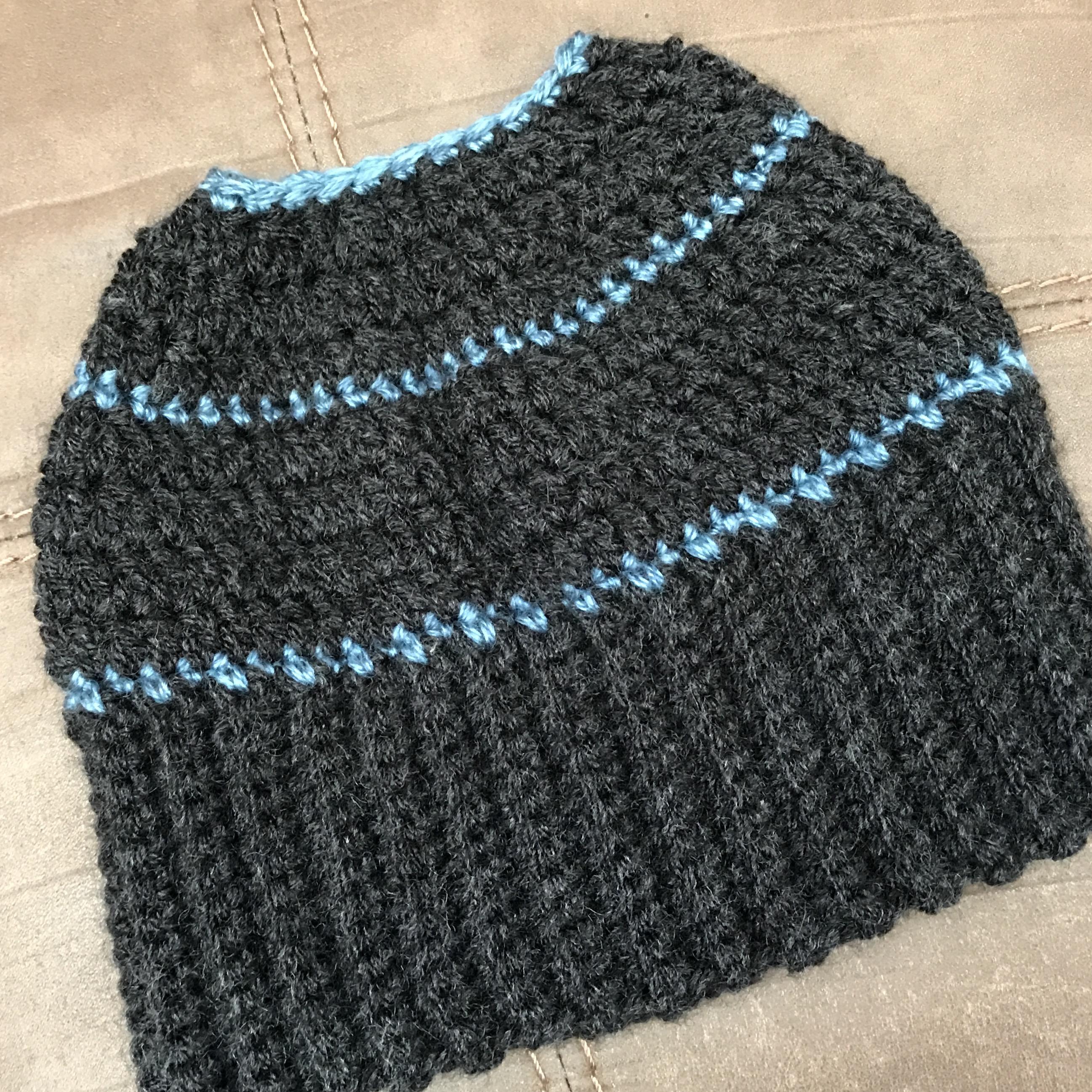 Crochet Bun Beanie