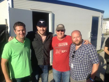 CMC Rocks 2013 with Chris Young, Rob Potts, Matthew Lazarus-Hall