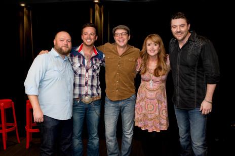 Chris Young, Stephen Barker Liles, Mark & Jay O'Shea - 2013