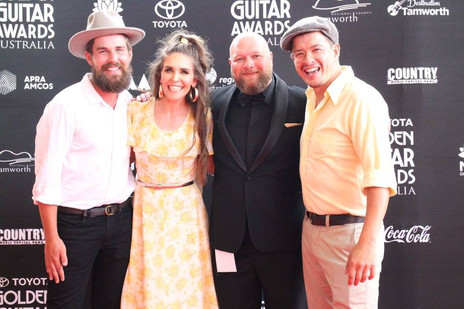 Fanny Lumsden, Dan Freeman, Tom Lumsden Golden Guitar Awards 2018