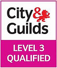 City & Guilds Level 3 Qualified endorsement image.