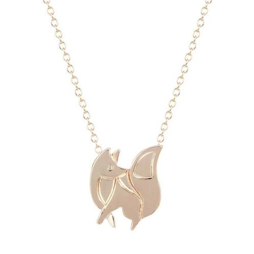 Baby fox charm pendant necklace mamatuckshop artisanal jewellery baby fox charm pendant necklace s1590 s 1200 aloadofball Choice Image