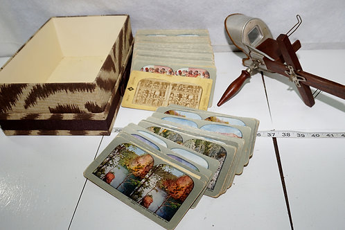 Underwood Stereo View With Over 200 Cards