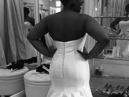 The girl in this wedding dress......