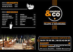 Sharon & Co recto depliant A5