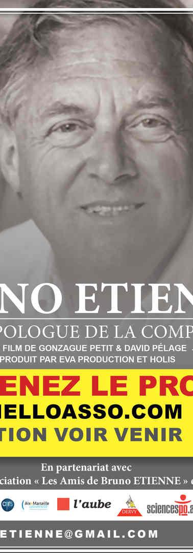 Bruno Etienne flyer et affiche