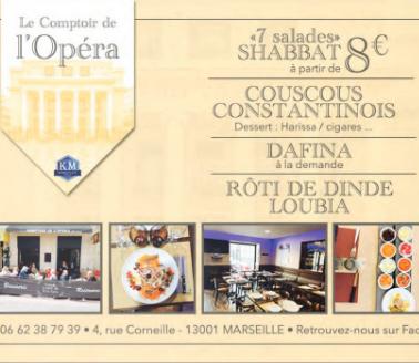 Le comptoire de l'Opera