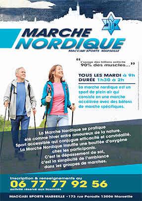 Flyer Marche Nordique