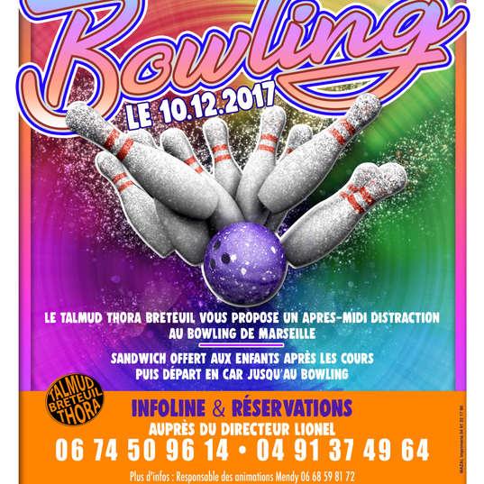 Affiche bowling talmudthora