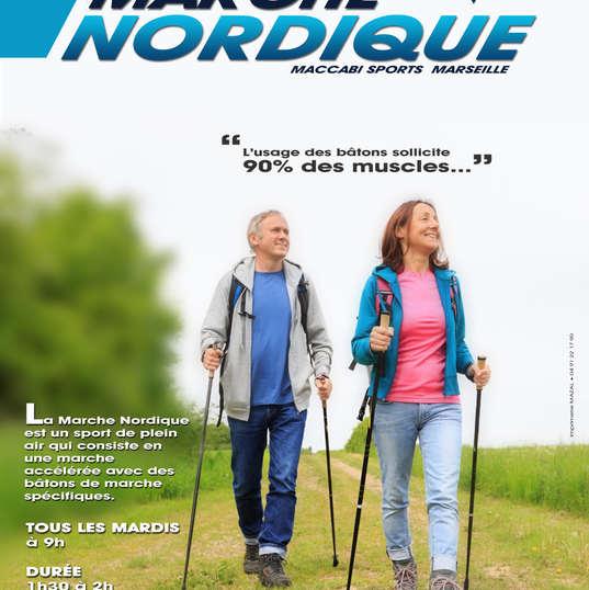 Affiche Marche Nordique