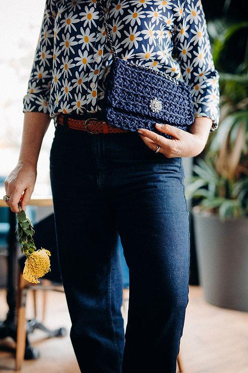 Mon Petit sac - La pochette - Bleu marine