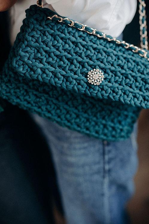 Mon Petit sac - La pochette - Vert sapin