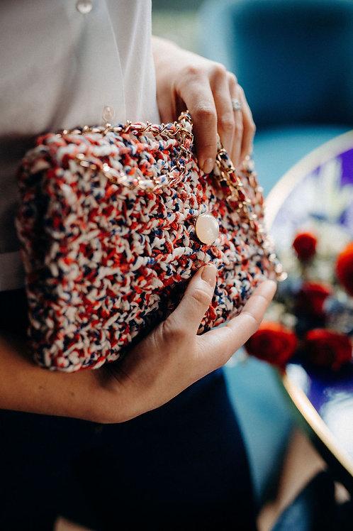 Mon Petit sac - La pochette - Liberty Rouge