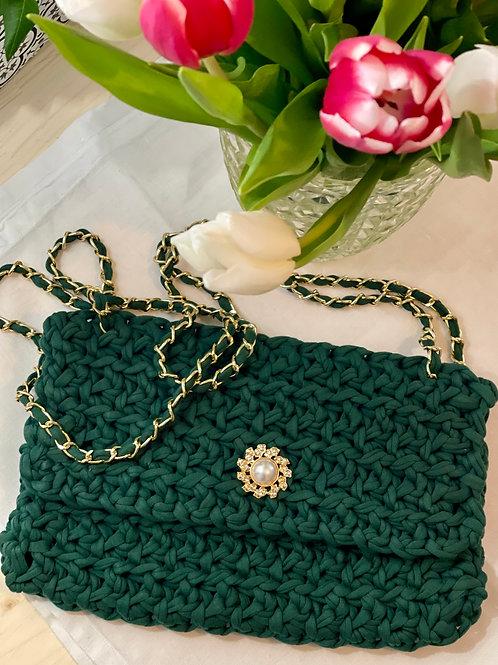 Mon Petit Sac - Le sac à main - Vert forêt