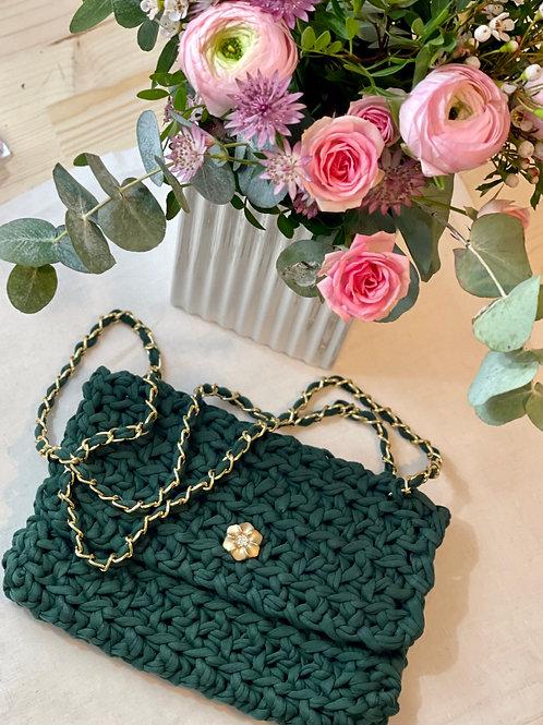 Mon Petit sac - La pochette - Vert forêt