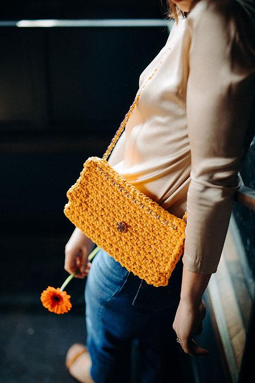 Mon Petit sac - La pochette - Jaune Soleil