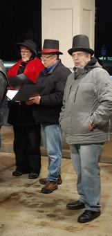 2020 Choir Christmas Caroling 7