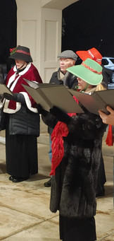 2020 Choir Christmas Caroling 5