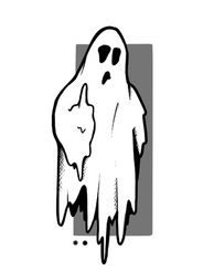Finger Ghost by LW
