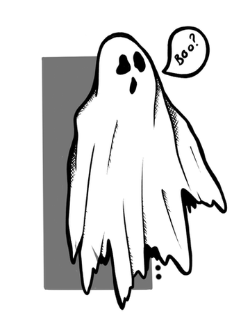 Boo Ghost by LW
