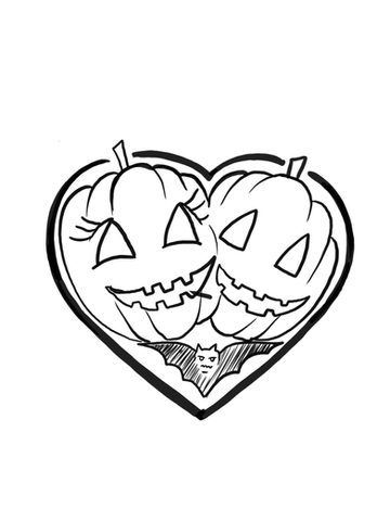 Pumpkin Heart by GK