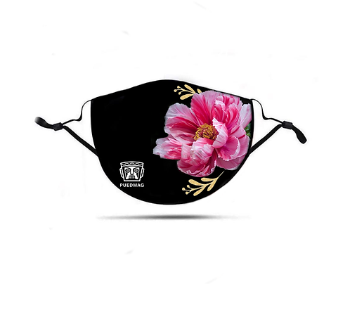 MASK - TINA - PINK FLOWER
