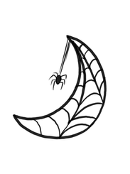 Spider Moon by GK