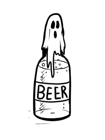 Beer Ghost by LW