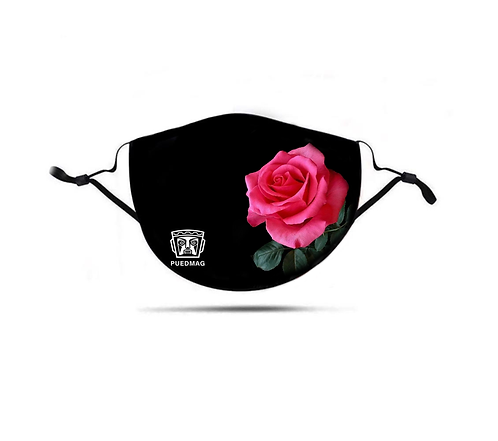 MASK - TINA - PINK ROSE 3